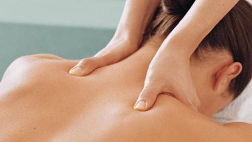 массаж при боли в шее